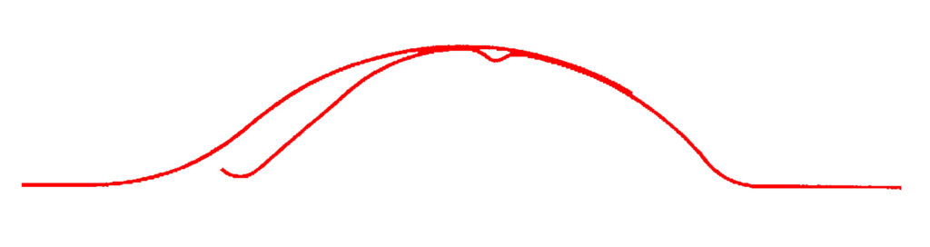 Détail de la tôle tuilée TPG. Tropic Profil Guadeloupe conçoit les calepinages et fabrique vos tôles ondulées, tuilées, revêtues, en alu... pour vos toitures et bardages.